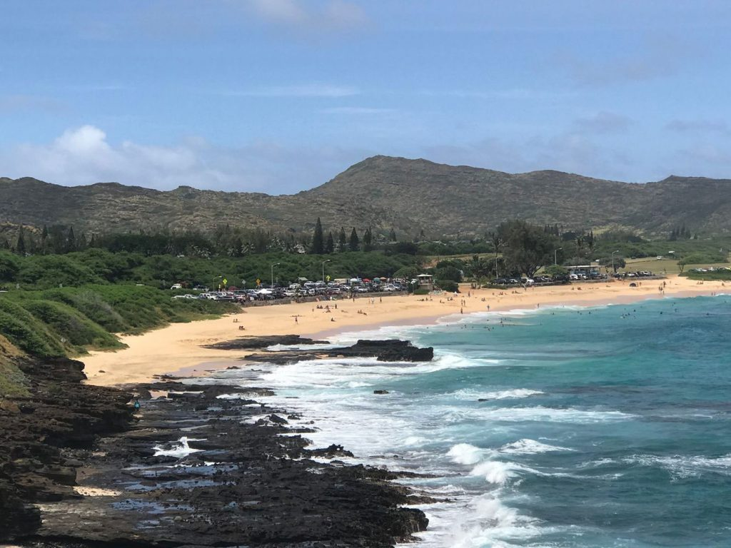 Beach in Oahu
